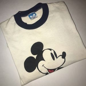 Vintage 1970 Mickey Mouse T-shirt
